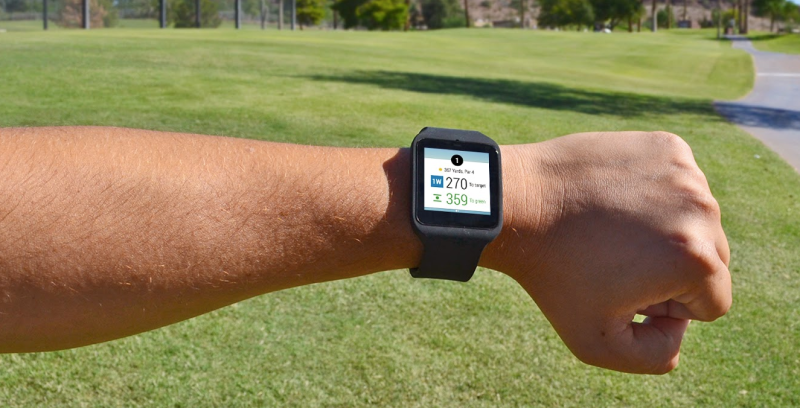 Android Wear GPS in action