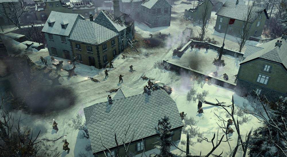Company of Heroes 2: Ardennes Assault. Firefight.
