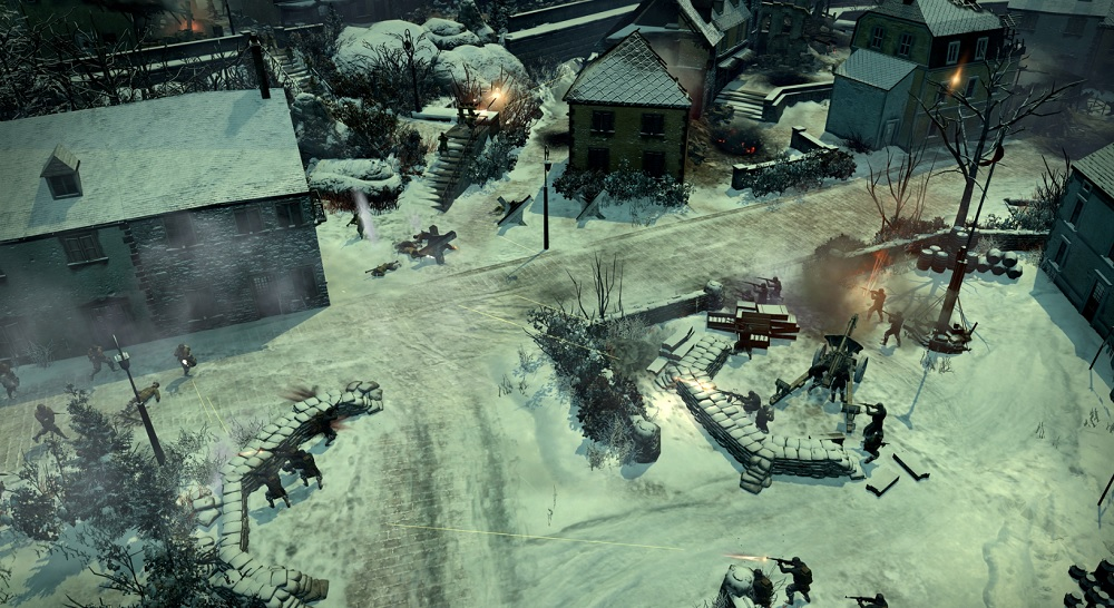 Company of Heroes 2: Ardennes Assault. A howitzer.