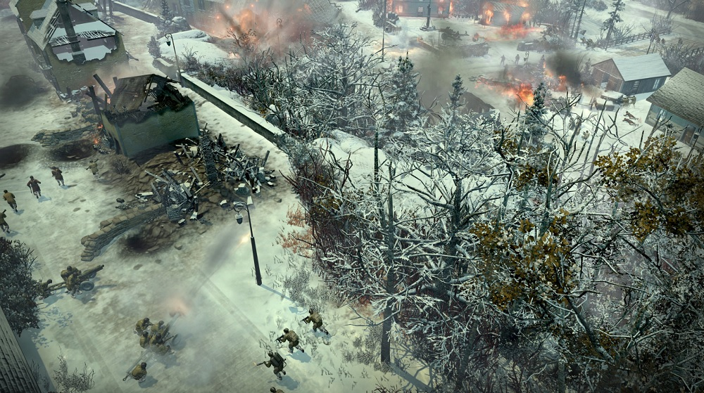 Company of Heroes 2: Ardennes Assault. On the move.