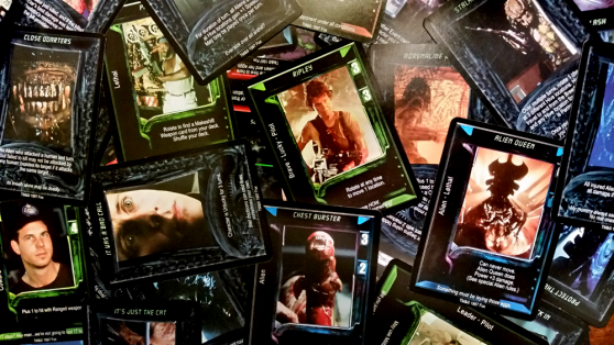Aliens vs. Predator The Trading Card Game cards