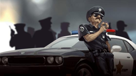 Basement cop