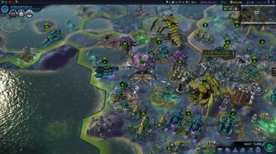 A small section of the vast world to conquer in Civilization: Beyond Earth