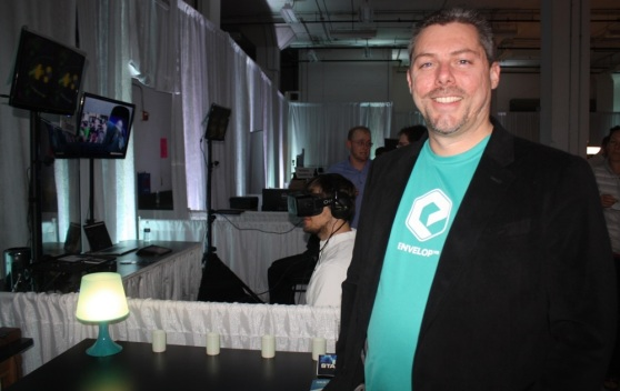 Bob Berry of Envelop VR and organizer of SEA VR