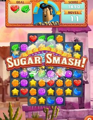 The Book of Life: Sugar Smash screenshot.