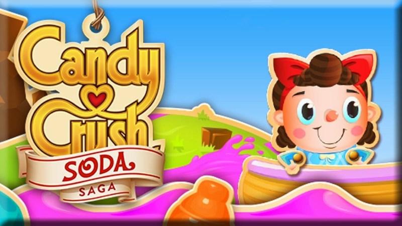 Candy Crush Soda Saga from King.