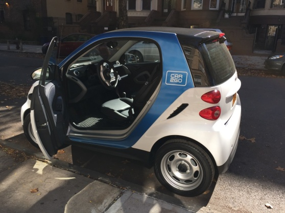 Car2Go test drive