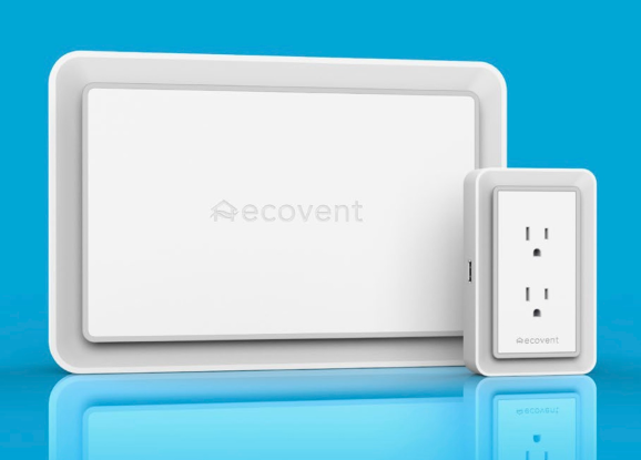The ecovent motorized wall vent and outlet-mounting sensor
