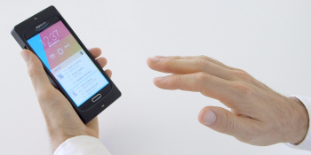 Coming next year: ultrasonic-based gestures-in-air for your phone