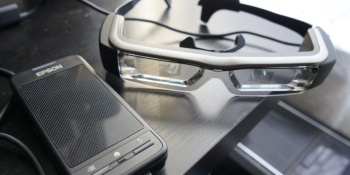 Epson's Moverio smartglasses: A Google Glass competitor with a point (review)