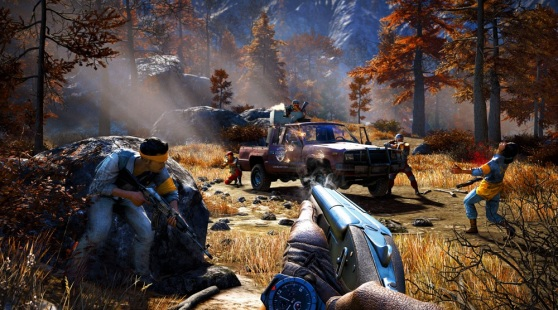 Firefight in Far Cry 4