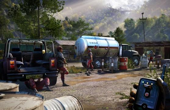 Far Cry 4 has beautiful vistas of the Himalayas.