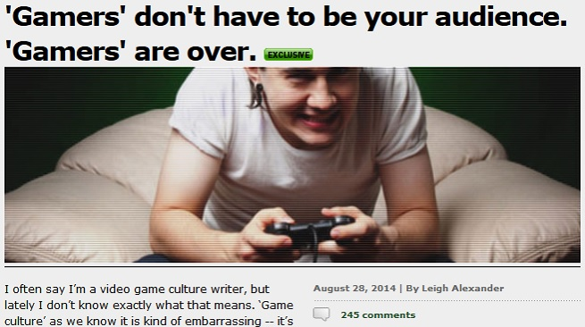 Gamasutra article by Leigh Alexander