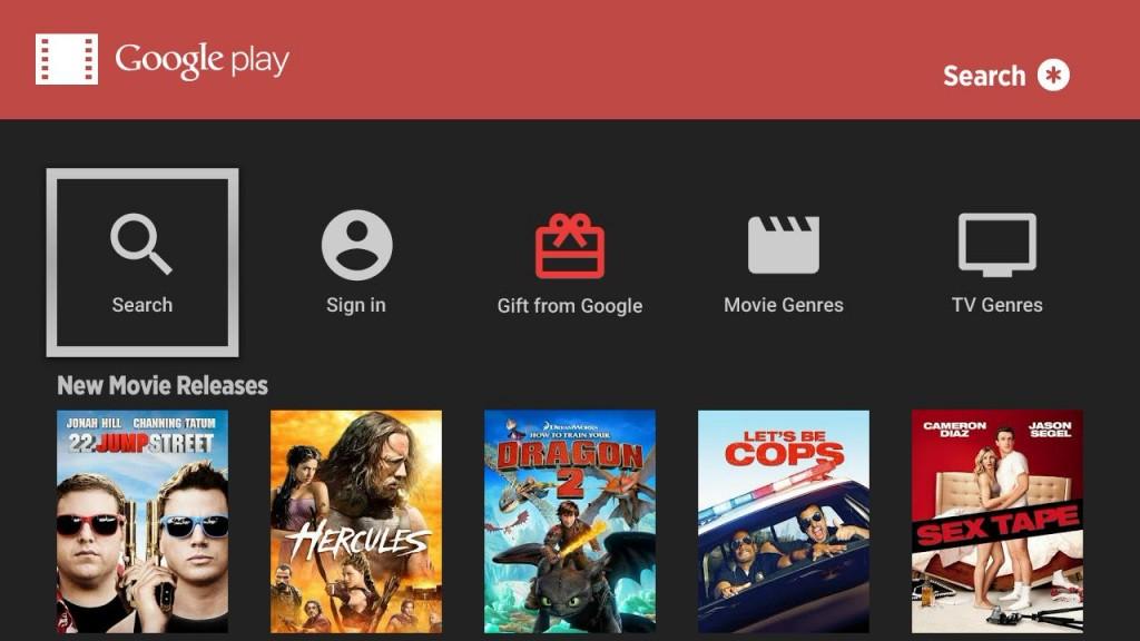 Despite Android TV push, Google Play Movies & TV app comes ...