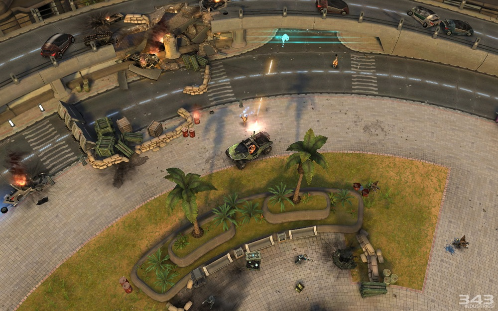 Halo: Spartan Stirke Warthog