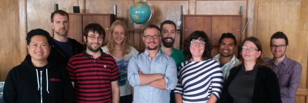 The Idibon team.