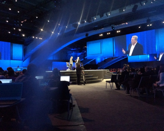 Neil Young and Al Gore get into it at Dreamforce