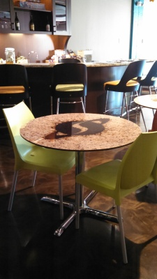 Stardock kitchen and tables