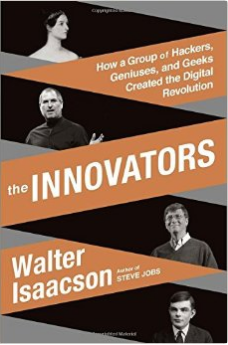 "Cover of ""The Innovators"" by Walter Isaacson."