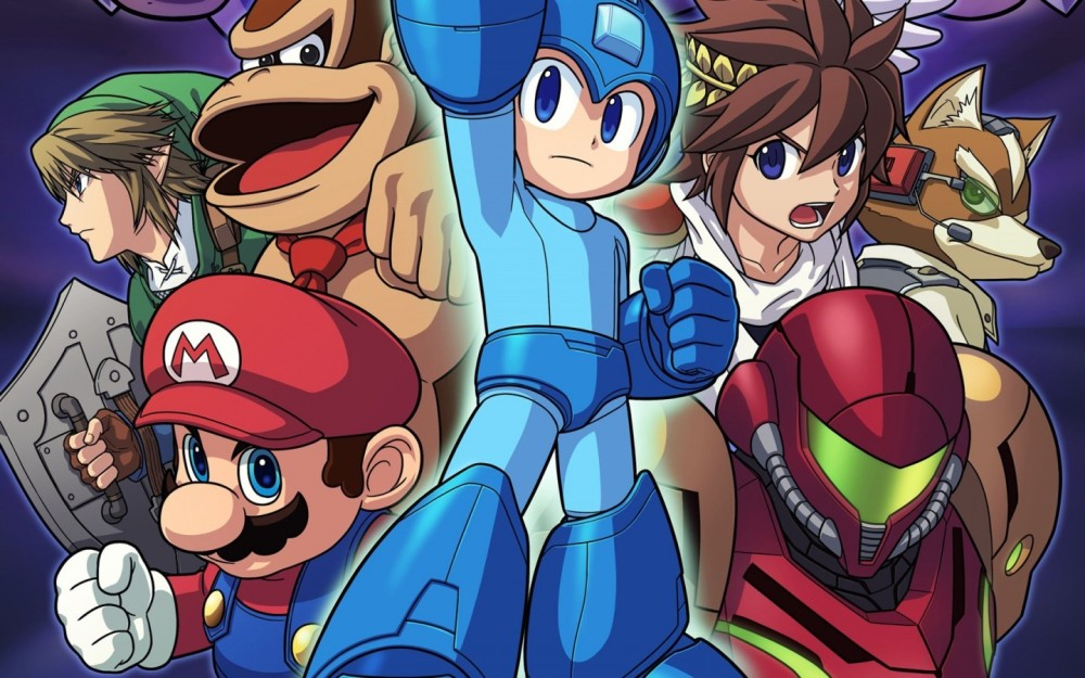 Mega Man is one of the most interesting new fighters in Super Smash Bros.