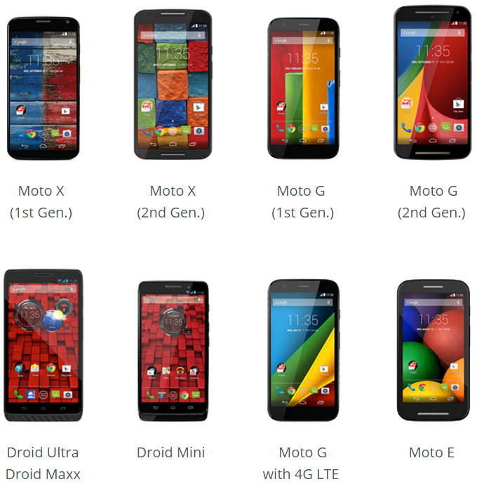 Motorola promises Android 5 0 update for Moto X, Moto G