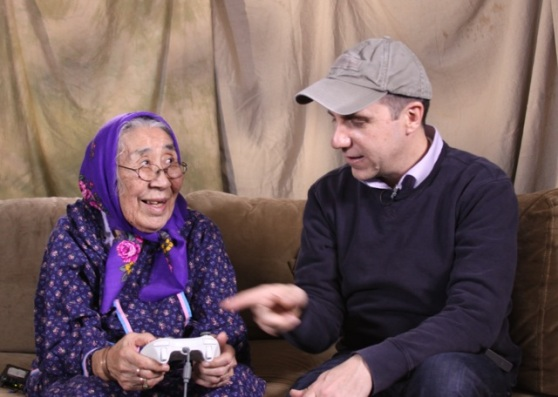 BTS of Never Alone: Minnie Gray and Sean Vesce