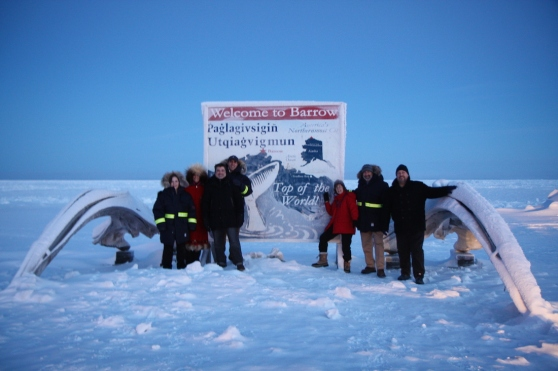 BTS of Never Alone: the team visiting Alaska