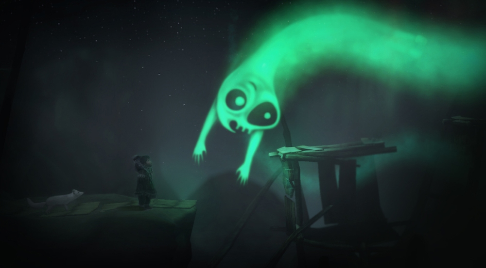 Never Alone was an experience you literally couldn't get anywhere else this year.
