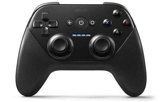 Nexus Player's gamepad.