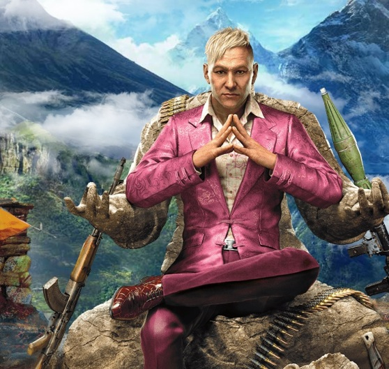 Pagan Min, the villain in Far Cry 4.