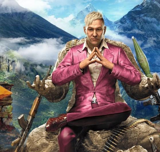 Pagan Min, the villain in Far Cry 4.