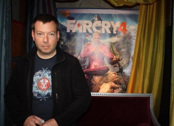 Patrik Méthé, game director for Far Cry 4 at Ubisoft.
