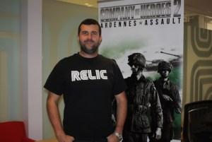 Quinn Duffy of Relic Entertainment