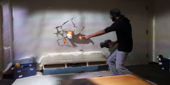 Microsoft's RoomAlive turns your living room into a giant interactive game