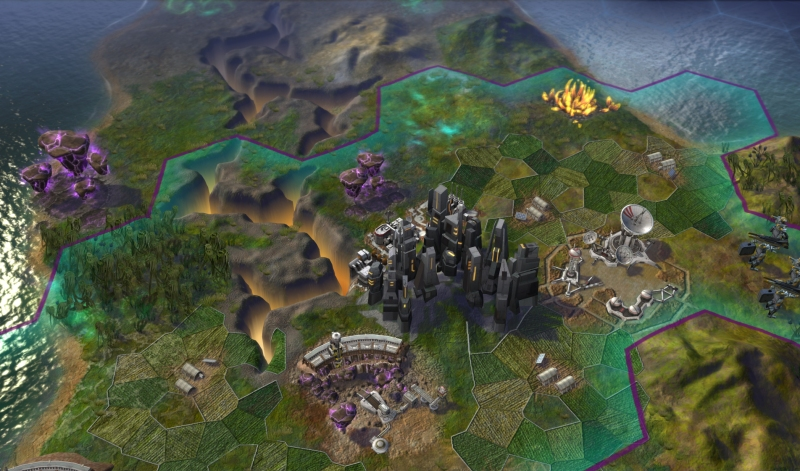 Civilization: Beyond Earth Supremacy city