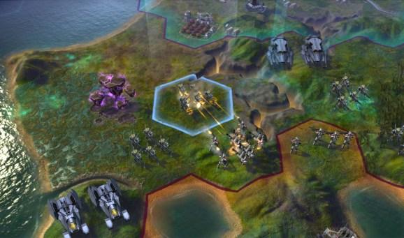 Civilization: Beyond Earth firefight
