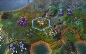 Civilization: Beyond Earth firefight
