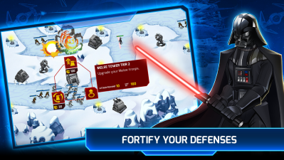 Star Wars: Galactic Defense is a fully armed and operational tower
