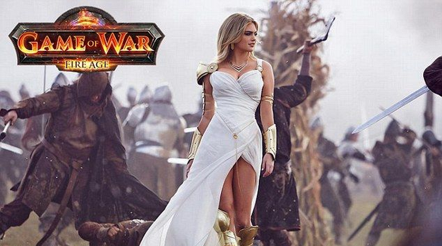 Are not Naked girl from game of war