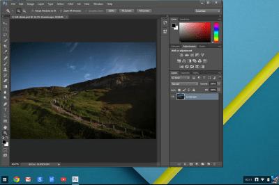 Photoshop for Chrome OS starts to take shape | VentureBeat