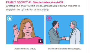 Lyft guide for passenger