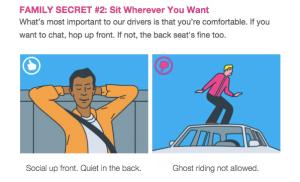 Lyft guide for passenger