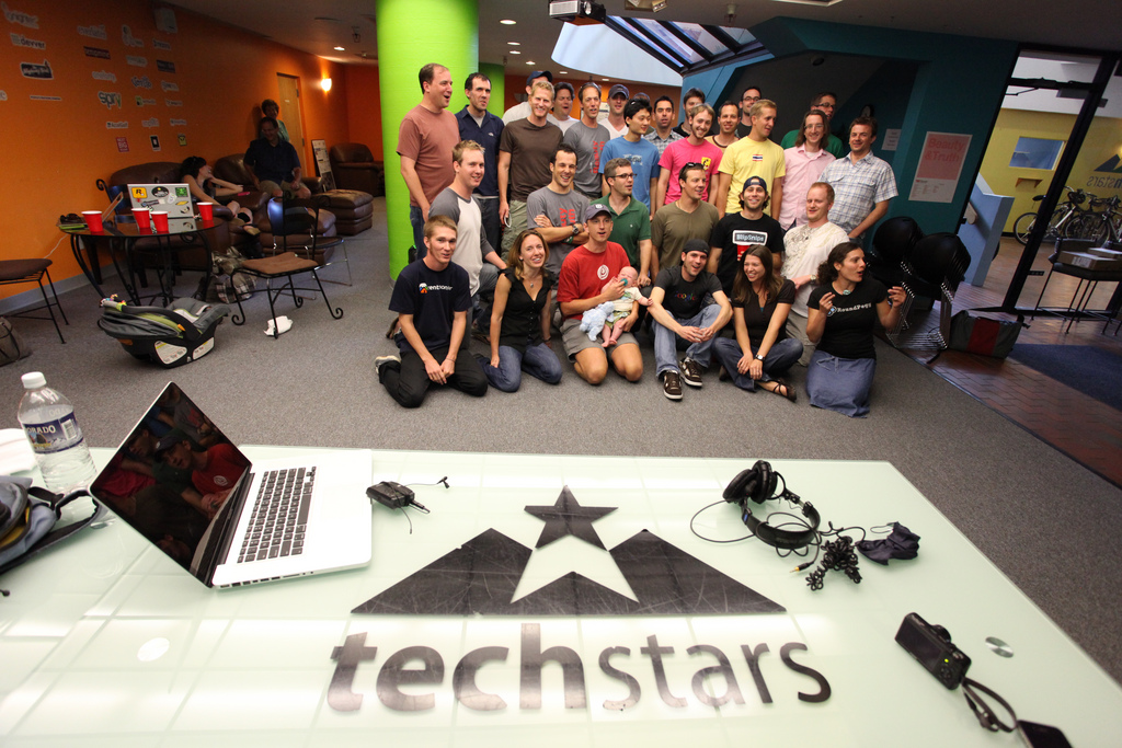 The 2010 class of Techstars entrepreneurs.