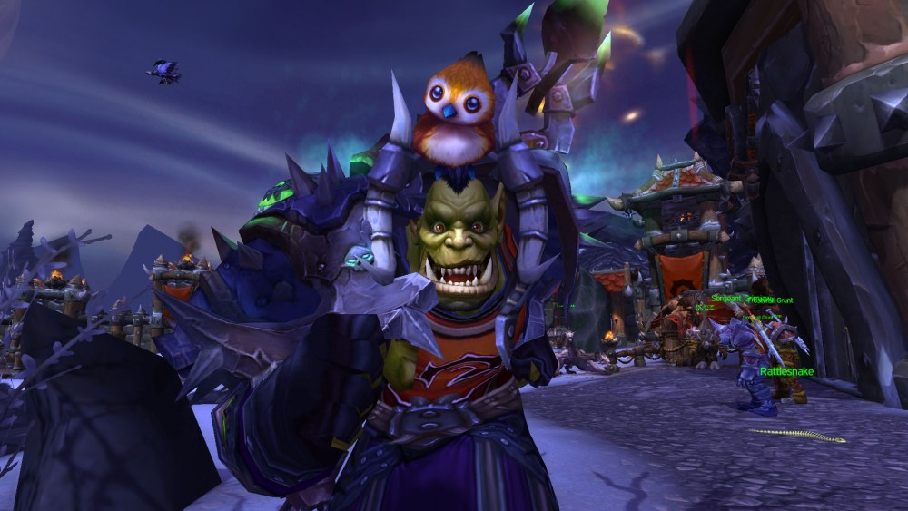 World of Warcraft Pepe the bird