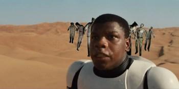 'Star Wars: The Force Awakens' trailer versus video games
