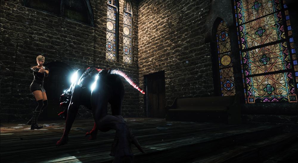 Alone in the Dark: Illumination church beast