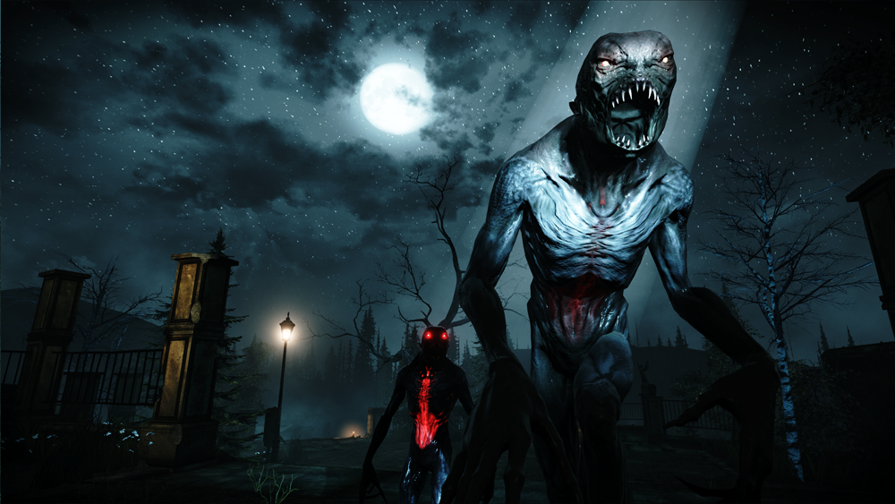 Alone in the Dark: Illumination monsters moonlight