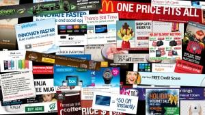 'Half an hour of web ads'