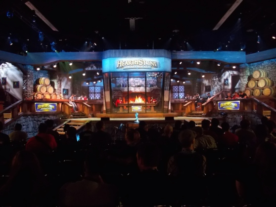 BlizzCon 2014: Hearthstone stage