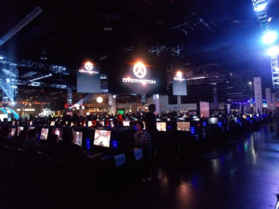BlizzCon 2014: Overwatch demo area